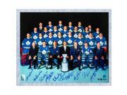 AJ Sports World TEAM10403A 16 x 20 in. 1967 Toronto Maple Leafs Stanley Cup Team 10 Player Signed Photo 9SIV06W69U6593