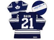 AJ Sports World BAUB10400A Bobby Baun Toronto Maple Leafs Autographed 1967 Stanley Cup Retro CCM Jersey 9SIV06W69U6438
