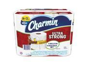 Charmin 99806 4 x 3.92 in. Ultra Strong Bathroom Tissue 308 Roll, 2 Ply - Pack of 18