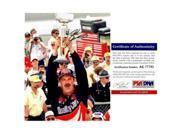 RealDealMemorabilia DJarrett8x10-4-PSA 8 x 10 in. Nascar Driver Brickyard 400 Win Dale Jarrett Signed Autographed Photo 9SIV06W6A37739