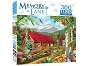 Masterpieces 31654 18 x 24 in. Mountain Hideaway Puzzle - 300 Piece 9SIV06W6889515