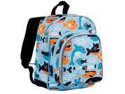 Wildkin 40603 Big Fish Pack N Snack Backpack for Boys, Blue 9SIV06W67H9657