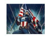 Sports Integrity 20005 16 x 20 in. Stan Lee Signed Marvel Captain America Photo 9SIV06W6J55029