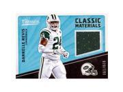 Autograph Warehouse 343260 Darrelle Revis Player Worn Jersey Patch Football Card - New York Jets 2017 Panini Classic Materials No. CMDR LE 20 & 199 9SIV06W6E37719