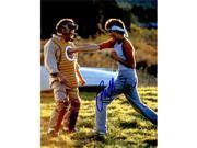 Schwartz Sports Memorabilia MAC08P501 8 x 10 in. Ralph Macchio Signed the Karate Kid Puching Mr. Miyagi While Training Photo 9SIA00Y6G88358