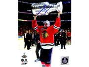 Schwartz Sports Memorabilia KRU08P401 8 x 10 in. Marcus Kruger Signed Chicago Blackhawks 2015 Stanley Cup Trophy Photo 9SIV06W6GC9070