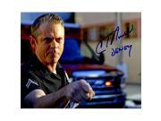 Schwartz Sports Memorabilia HOW08P503 8 x 10 in. C. Thomas Howell Signed Southland Police Officer Photo with Dewey 9SIA00Y6G88387