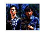 Schwartz Sports Memorabilia MAC11P520 11 x 14 in. Ralph Macchio & C. Thomas Howell Dual Signed the Outsiders Photo with Ponyboy 9SIV06W6GC8995