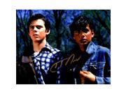 Schwartz Sports Memorabilia HOW08P502 8 x 10 in. C. Thomas Howell Signed the Outsiders with Ralph Macchio Photo 9SIV06W6GK5566