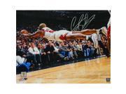 Schwartz Sports Memorabilia ROD16P220 16 x 20 in. Dennis Rodman Signed Chicago Bulls Diving for Basketball Photo
