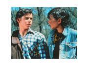 Schwartz Sports Memorabilia MAC16P522 16 x 20 in. Ralph Macchio & C. Thomas Howell Dual Signed the Outsiders Photo with Ponyboy 9SIV06W6GK6851