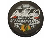 Schwartz Sports Memorabilia ROZPUC401 Michal Rozsival Signed Chicago Blackhawks 2015 Stanley Cup Champs Logo Hockey Puck 9SIA00Y6G96494