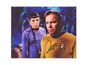 Real Deal Memorabilia NimoyShatner8x10-10 Leonard Nimoy & William Shatner Signed - Autographed Star Trex 8 x 10 in. Photo - Guaranteed to Pass PSA or JSA - Mr. 9SIV06W6J69371