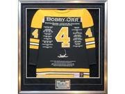 Autograph Authentic CJPCH31898 No. 2 of 4 Bobby Orr Signed Platinum Career Jersey - Boston Bruins - GNR Certificate 9SIA00Y6J01913