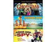 INM DIMG1329D Family Triple Feature - Ghost Trap, Junior High 9SIV06W6J72754