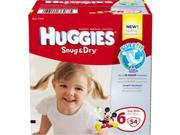 Huggies 6940674 Huggies Snug & Dry Diapers, Step 6 - Jumbo Pack
