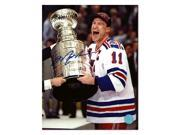 Autograph Authentic MESM10302B 8 x 10 in. Mark Messier New York Rangers Autographed 1994 Stanley Cup Photo 9SIA00Y6J01540