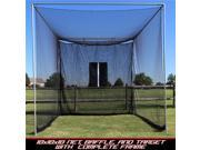 Cimarron CMW-MAS10GNCF 10 x 10 x 10 in. Masters Golf Net with Complete Frame 9SIV06W7SD7045