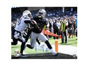 Sports Integrity 20956 16 x 20 in. Amari Cooper Signed Oakland Raiders Touchdown JSA ITP 9SIV06W6NH4071