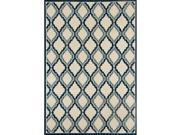 Art Carpet 24682 4 x 6 ft. Milan Collection Hopscotch Woven Area Rug, Light Beige 9SIV06W6NF2916