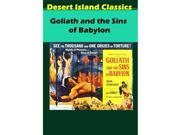 Desert Island Films 637801683486 Goliath & The Sins of Babylon DVD 9SIV06W6R73528