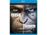 TCFHE FOX BR2333538 Rise of the Planet of the Apes & Dawn of the Planet of Apes Blu-Ray - DBFE & DHD 9SIV06W6X28518