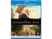 Universal Studios MCA BR62184498 Zookeepers Wife - Blu Ray & DVD with Digital HD 9SIV06W6X24167