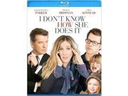 ANB BR23706 I Dont Know How She Does It - Blu-ray 9SIV06W6X23201