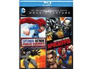 Warner Home Video WAR BR596855 Superman & Batman Public Enemies Apocalypse DVD - Blu-Ray 9SIV06W6X11775
