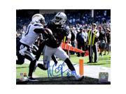 Sports Integrity 20949 Amari Cooper Signed Oakland Raiders Touchdown Photo JSA ITP, 8 x 10 in. 9SIV06W6X15635
