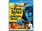 Alliance Entertainment CIN BRSF17632 The Four Skulls of Jonathan Drake DVD - Blu Ray, Black & White 9SIV06W6X24119