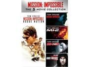Paramount PAR D59174276D Mission Impossible 5-Movie Collection DVD 5 Discs 9SIV06W6X28629