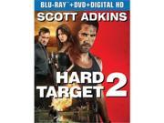 Universal Studios MCA BR63175725 Hard Target 2 - Blu Ray & DVD with Digital HD 9SIV06W6X10912