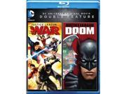 Warner Home Video WAR BR596814 Justice League Doom & Justice League War DVD - Blu-Ray 9SIV06W6X11631