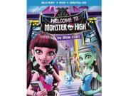 Universal Studios MCA BR63175120 Monster High-Welcome To Monster High - Blu Ray & DVD with Digital HD 2 Discs 9SIV06W6X22826