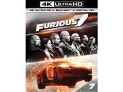 Universal Studios MCA BR61184887 Furious 7 - Blu Ray & 4Kuhd & Ultraviolet Digital HD 9SIV06W6X16680