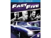 Universal Studios MCA BR61184703 Fast Five Blu Ray with Digital HD 9SIV06W6X12091