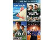 Sony Pictures Home Entertainment COL D47446D Abels Field Might Macs Soul Surfer When The Game Starts Tall DVD 2 Disc 9SIV06W6X12524