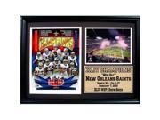 Encore Select 12x18 Photo Stat Frame - New Orleans Saints Champions 9SIV06W6XX0592