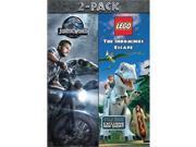 Universal Studios MCA D61181398D Jurassic World & Lego Jurassic World DVD 2 Discs - Pack of 2 9SIV06W6XX0995