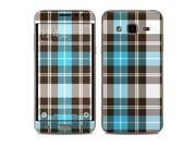 DecalGirl SGJ3-PLAID-TUR Samsung Galaxy J3 Skin - Turquoise Plaid