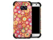 DecalGirl SGS7BC-SQUISHEDFLWRS Samsung Galaxy S7 Bumper Case - Flowers Squished