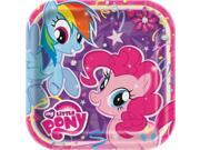 My Little Pony 30339085 9 Square Party Plates