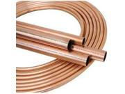 Mueller Industries 203326 Copper Tubing Boxed .5 X 25 Ft 9SIA00Y77Y6123