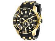 Invicta 886678314751 Mens 26086 Pro Diver Quartz Chronograph Black Dial Watch