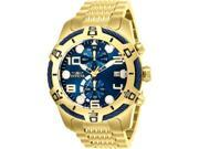 Invicta 886678309078 Mens 25549 Bolt Quartz Chronograph Blue Dial Watch