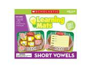 Scholastic 978-0-545-30207-4 Short Vowels Learning Mats