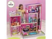 KidKraft 65833 11.5 x 17.75 x 39 in. Uptown Dollhouse with Furniture