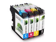 JARBO 1 Set Replacement Brother LC203XL Ink Cartridge High Yield Use in Brother MFC J480DW J680DW J880DW J460DW J5520DW J4420DW J4620DW J5720DW J4620DW Printer