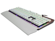 RuYiNiao K-26 Green axis Mechanical  Ergonomic Backlit Gaming Mechanical Keyboard with 8 colors style switcher